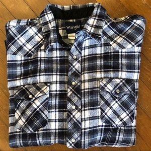 WRANGLER Flannel Shirt 3XL